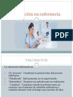Valoración en Enfermeria