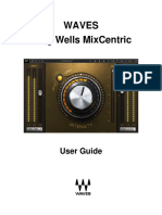 Greg Wells MixCentric User Guide