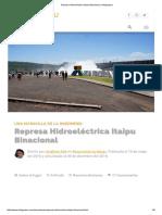Represa Hidroeléctrica Itaipu Binacional