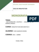 Monografia de Bioclimatica