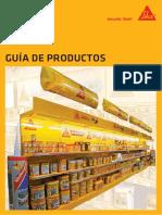 Gama de Productos Sika Hogar
