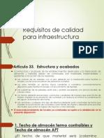 Presentacion Requisitos Calidad Infraesructur