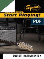 Squier Instruments Catalog