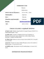 352445561 CV Genie Civil Docx