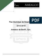 Plan Municipal de Desarrollo Amealco