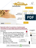 Temario Maquillaje Profesional Abril