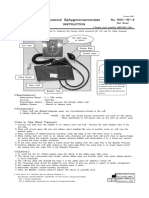 ALPK2 SWMA Aneroid Sphygmomanometer Instructions for Use