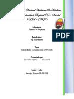 Resumen Gestion de Las Comunicaciones Del Proyecto (Dalia Figueroa)