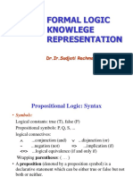 Ch07 Basic Knowledge Representation in First Order Logic