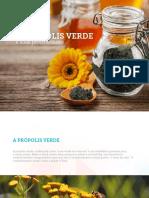 eBook Propolis Verde Propriedades