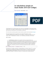 CREAR CALCULADORA EN VISUAL STUDIO