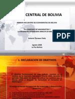 Exposion Banco Central-Antonio Terrazas