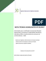 Nota Técnica Gvims-ggtes Nº 05-2017