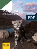 Panthera Annual Report 2016