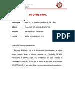 Construccion Informe Final 2017