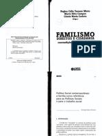 Teixeira SM Politica Social Contemporânea - A Familia Como Referência