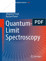 (Springer Series in Optical Sciences 200) Zbigniew Ficek, Ryszard Tanaś (Auth.)-Quantum-Limit Spectroscopy-Springer-Verlag New York (2017)