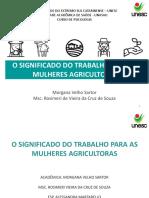 Corrigido O Signficado Do Trabalho Para as Mulheres Agricultoras1