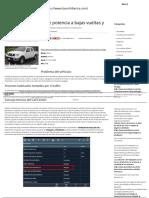 Nissan Navara, Falta de Potencia a Bajas Vueltas y en Punto Muerto _ Launch Iberica