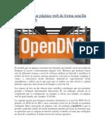 Cómo bloquear páginas web de forma sencilla con OpenDNS.docx