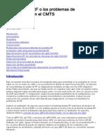 Determinar El RF o Los Problemas de Configuración en El CMTS_ PDF