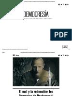 El mal y la redención_ los Demonios de Dostoyevski _ Democresía - Revista de actualidad, cultura y pensamiento.pdf