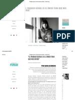 """""""El Trabajo Sexual Es El Único Tema Que Nos Divide"""" – Revista Furias"""