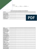 Ficha de Monitorameno de Aprendizagem