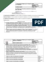 Instrumentación Didáctica Elementos de Acero