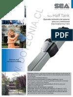 Brazo Para Porton Half Tank