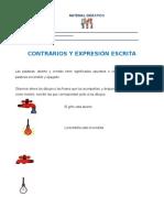 Esp_Contrarios y Expresión Escrita