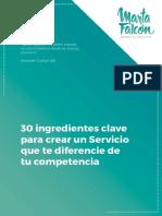 30 Ingredientes Clave Marta Falcón