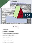 Ch21 Fundamentals of Machining