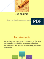 16170042 Job Analysis Ppt