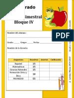 3er Grado - Bloque 4 (2014-2015)