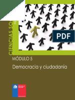 Cs. Soc. Modulo 5 Democracia y Ciudadania
