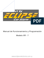 Manual Eclipse XR-7