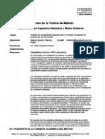 RTFM Análisis de escalabilidad espacial para un Modelo Conceptual de Producción de Escorretía. 2010