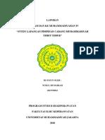 Cover Laporan PCM