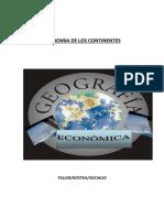 Economia de Los Continentes
