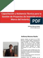 17.07.2017 Gestion de Proyectos de Inversión Invierte.pe