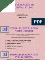 Instalación IDE Visual Studio
