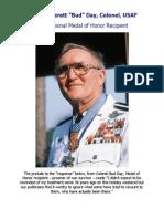 """George Everett """"Bud"""" Day, USAF, CMH"""