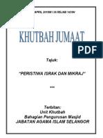 13.04.2018 (Rumi) Peristiwa Israk Dan Mikraj