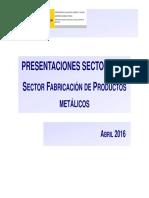 Productos metálicos
