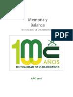 Balance Mutucar 31122016