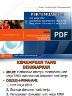 PPT UEU Standar Akreditasi Pelayanan Kesehatan Pertemuan 4