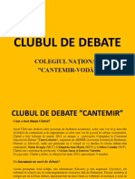 Fb 273 Club Uld e Debate