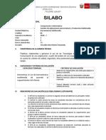 Herramientas Multimedia - Silabo