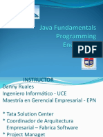 Java Fundamentals Enero 2018